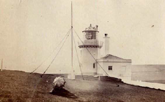 Belle Tout Lighthouse at Beach Head