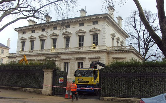 Kensington Palace Gardens, West London